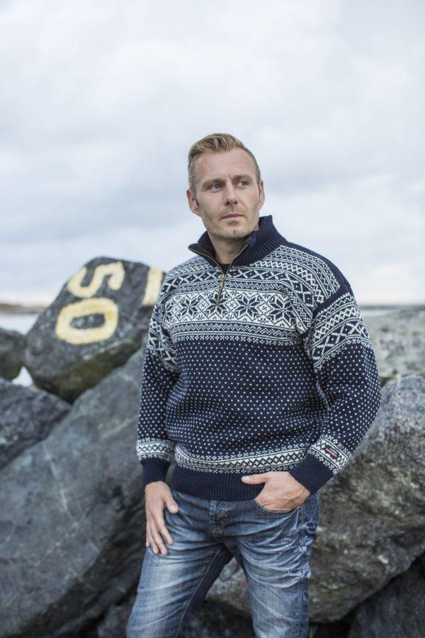 Nórsky Sveter NORWOOL zo 100% vlny Sigurd