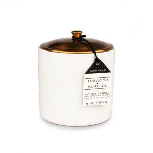 sviečka HYGGE Tobacco & Vanilla 425g