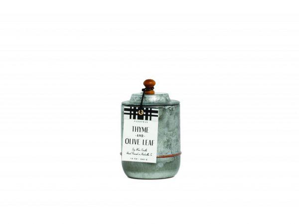 sviečka HOMESTEAD Thyme & Olive leaf 340g