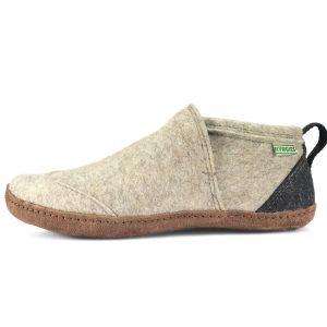 vlnené papuče kyrgies béžové