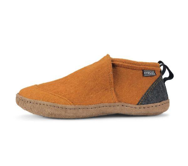 vlnené papuče kyrgies oranžová