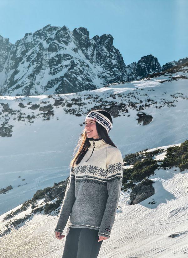 Nórsky Sveter NORWOOL zo 100% vlny Lagertha