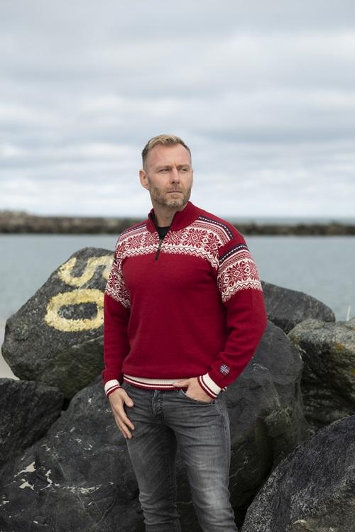 Nórsky sveter Arctic Circle zo 100% merino vlny