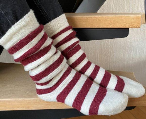 Dámske ponožky z 50% vlny Hyggesokker
